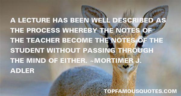 Mortimer J. Adler Quotes