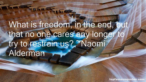 Naomi Alderman Quotes