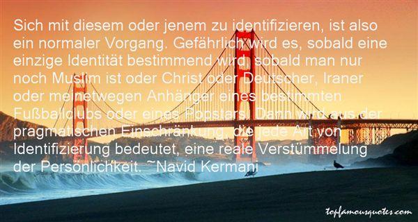 Navid Kermani Quotes