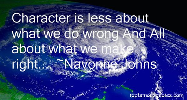 Navonne Johns Quotes