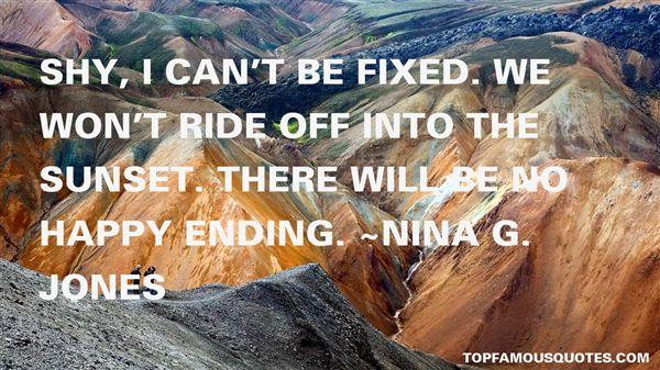 Nina G. Jones Quotes