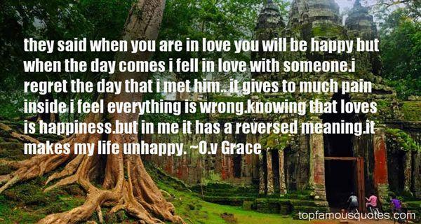 O.v Grace Quotes