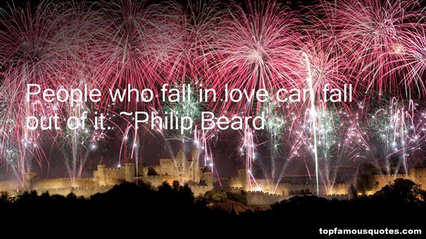 Philip Beard Quotes