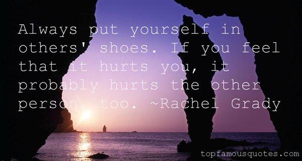 Rachel Grady Quotes