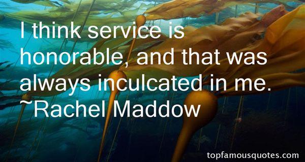 Rachel Maddow Quotes