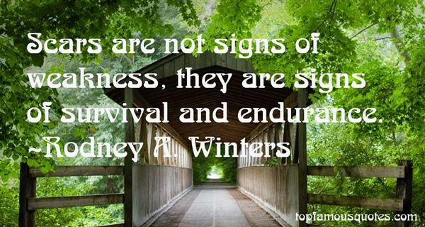 Rodney A. Winters Quotes