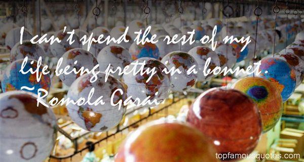 Romola Garai Quotes