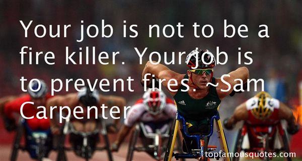 Sam Carpenter Quotes