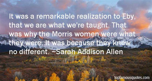 Sarah Addison Allen Quotes