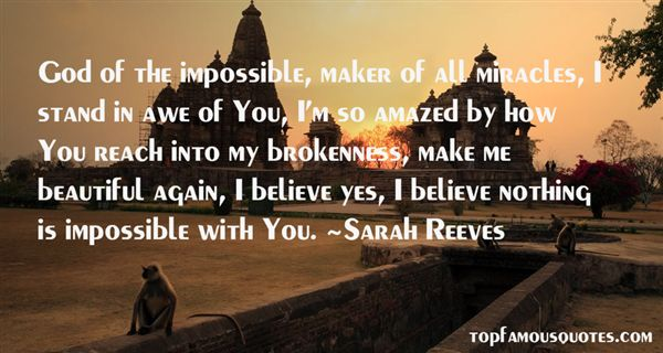 Sarah Reeves Quotes