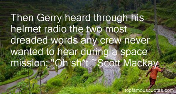 Scott Mackay Quotes