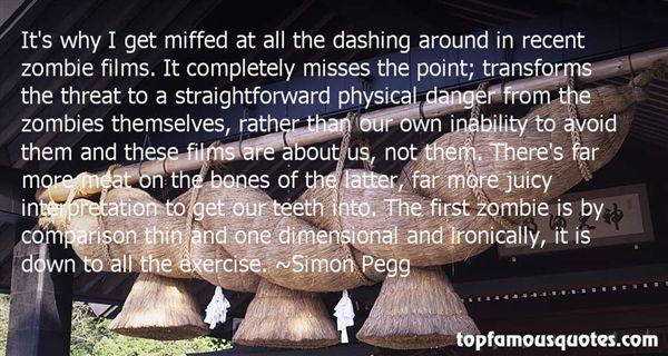 Simon Pegg Quotes
