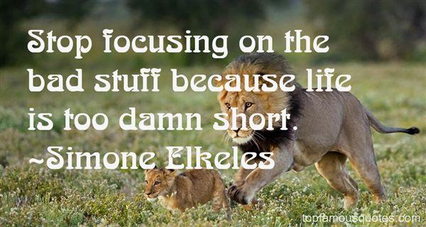 Simone Elkeles Quotes
