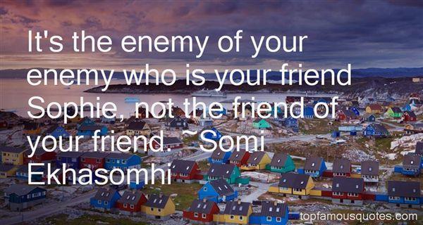 Somi Ekhasomhi Quotes