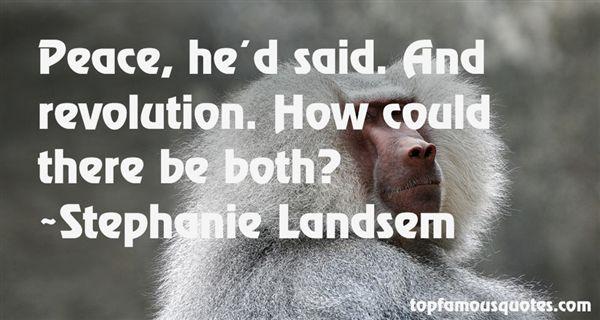 Stephanie Landsem Quotes