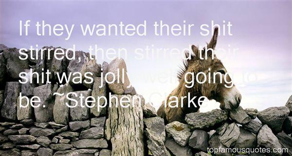 Stephen Clarke Quotes