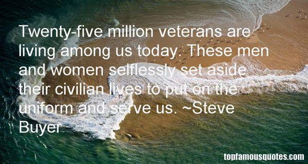 Steve Buyer Quotes