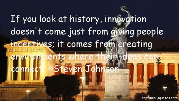 Steven Johnson Quotes