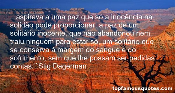 Stig Dagerman Quotes