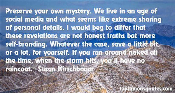 Susan Kirschbaum Quotes