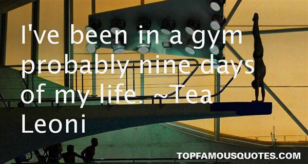Tea Leoni Quotes