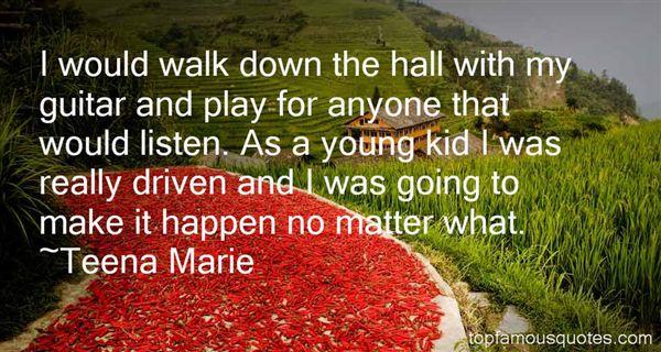 Teena Marie Quotes