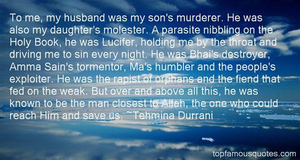 Tehmina Durrani Quotes