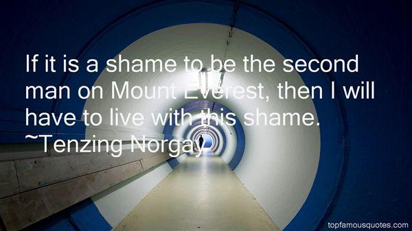 Tenzing Norgay Quotes