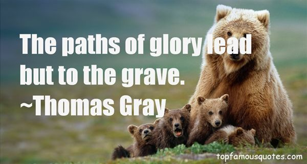 Thomas Gray Quotes