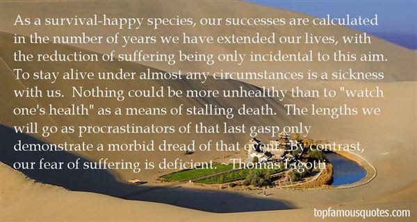 Thomas Ligotti Quotes