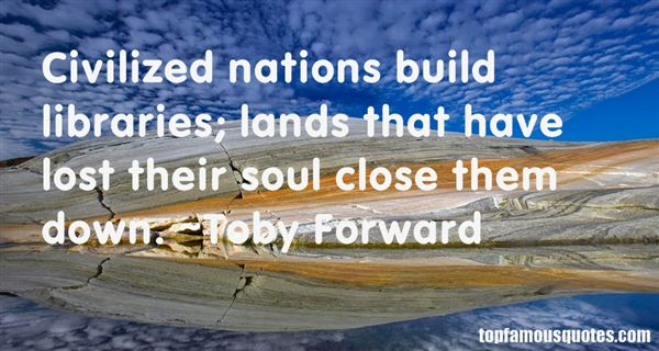 Toby Forward Quotes