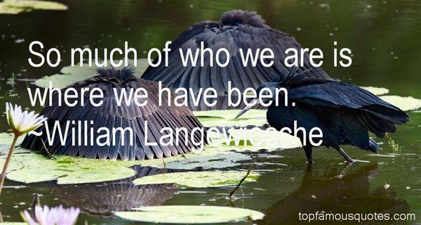 William Langewiesche Quotes