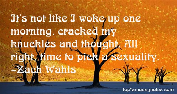 Zach Wahls Quotes