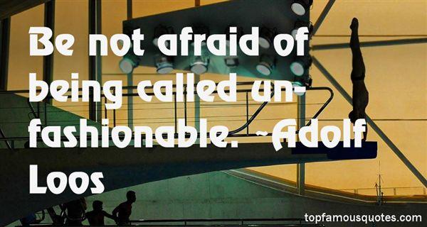 Adolf Loos Quotes