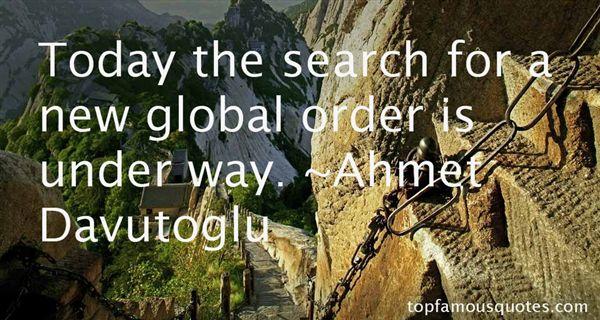 Ahmet Davutoglu Quotes