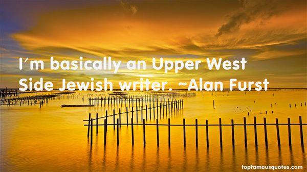 Alan Furst Quotes
