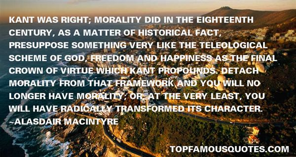 Alasdair MacIntyre Quotes
