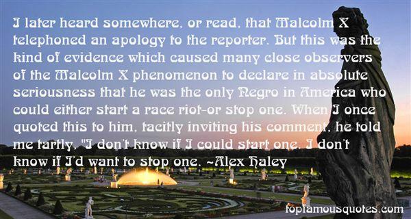 Alex Haley Quotes