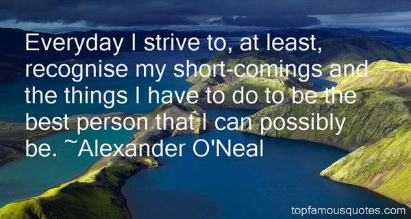 Alexander O'Neal Quotes