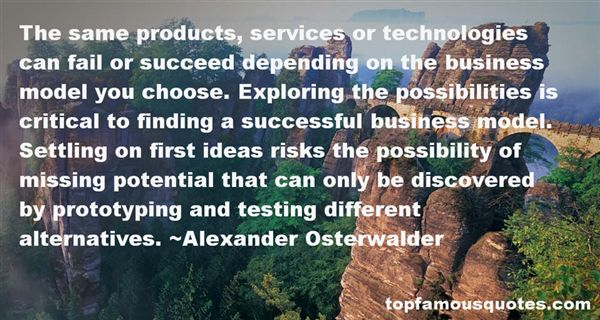 Alexander Osterwalder Quotes