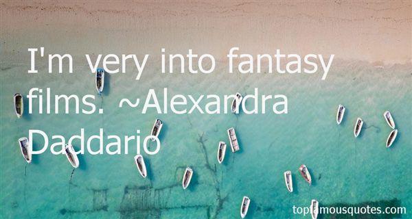 Alexandra Daddario Quotes