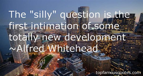 Alfred Whitehead Quotes