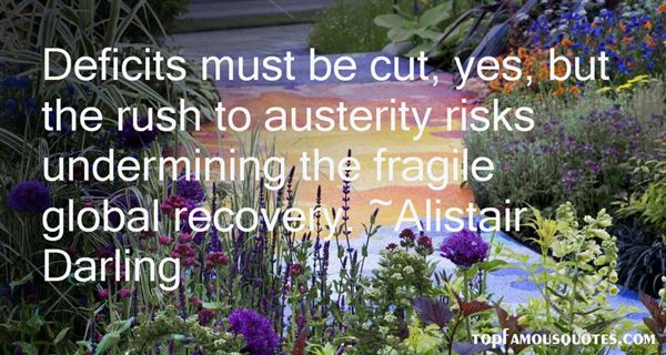 Alistair Darling Quotes