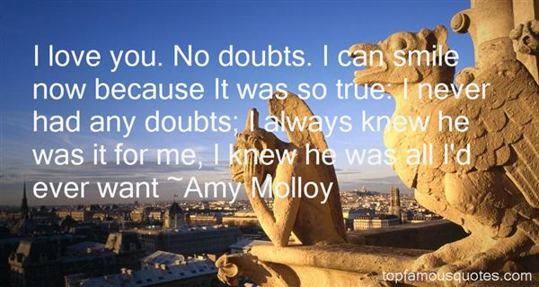 Amy Molloy Quotes
