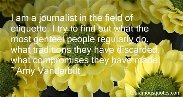 Amy Vanderbilt Quotes