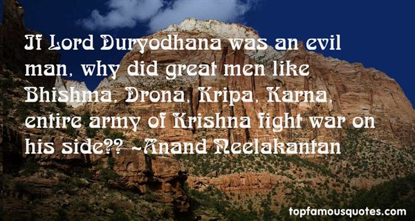 Anand Neelakantan Quotes