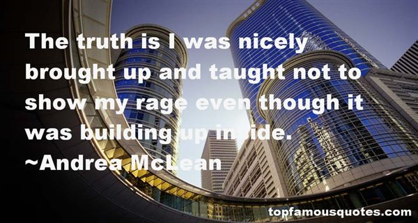 Andrea McLean Quotes