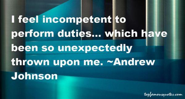 Andrew Johnson Quotes