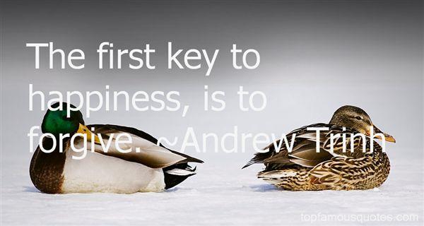 Andrew Trinh Quotes