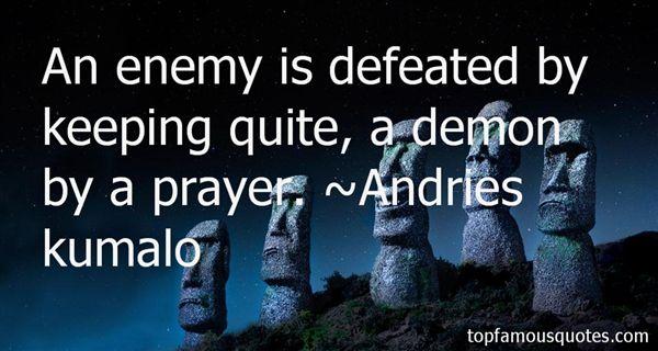 Andries Kumalo Quotes